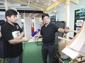 南京创意展采访讲解