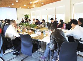 振兴木结构发展纲要研讨会会议